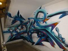 MG La Bomba pour le projet Rehab#1 (Archi & Philou) Tags: paris14 murpeint paintedwall intérieur rehab réhabilitation artsetmétiers maisondesartsetmétiers mglabomba