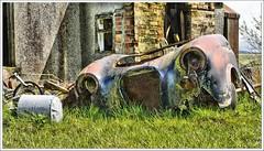 The Lost Village of Haywood (Ben.Allison36) Tags: lost village haywood south lanarkshire scotland car