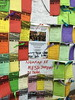 messages of support for Malaysia Air MH370, Kuala Lumpur, Malaysia, March 2015