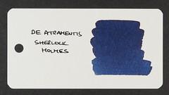 De Atramentis Sherlock Holmes - Word Card