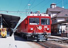 Pontresina_801 (glennfresch) Tags: train swiss bahn ferrovia railrod rhb bernina pontresina poschiavo tirano