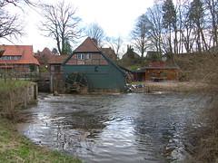 Wassermühle in Grande (Seesturm) Tags: mühle grande schleswigholstein 2015 wassermühle seesturm
