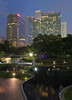 KLCC Park (rogelio g arcangel) Tags: city longexposure nightphotography travel sunset urban night twilight asia cityscape sundown malaysia bluehour kualalumpur klcc nightscenes klccpark tradershotel kualalumpurcitycentre tradershotelkualalumpur