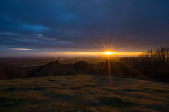 Adam's Hill Sunset 1 (@Dave) Tags: sunset sun beautiful set spring high nikon adams gorgeous hill nikkor dslr clent d600