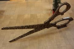 Scissors (v.beek) Tags: art germany scissors cogs gears sprockets ochtrup ochtrupoutlet