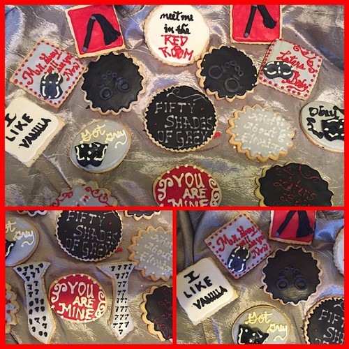 fifty shades of grey bridal shower cookies cakeboss creative cake artist danjaes delights