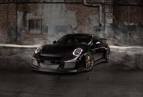 Porsche 911 GT3 на дисках TechArt