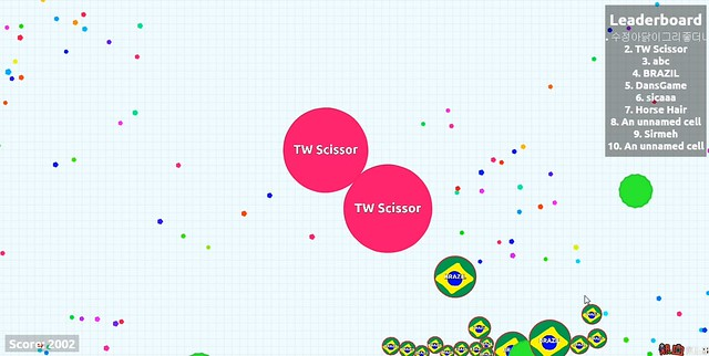 [Game] Agar.io