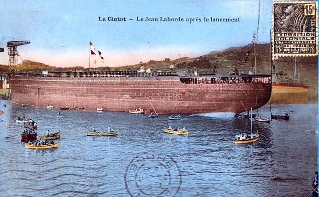 1929.09.28 - JEAN LABORDE  Le lancement (Coll.X.E.) 2