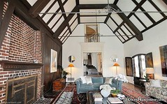 Walt Disney's Los Feliz home - living room