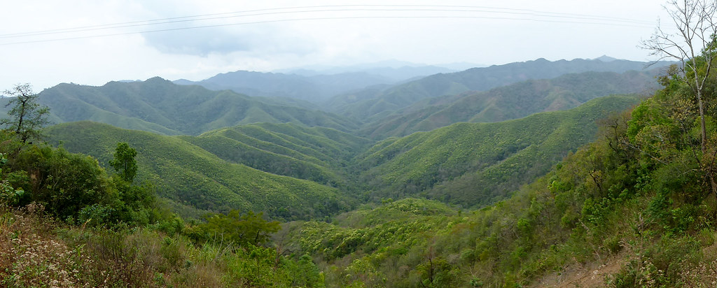 The green hills of Manipur