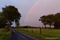 Regenbogen in der Abendsonne (grafenhans) Tags: rain spring rainbow im sony alpha 700 tamron regen regenbogen farben frühling a700 alpha700 grafenwald 281750