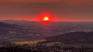 Sonnenuntergang vom Bielebohturm aus (explore)