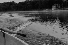 Schweden - frühmorgendlicher Bootsausflug