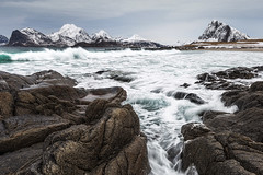 Myrland (christian.denger) Tags: seascape beach norway canon eos long exposure lofoten 6d 1635 myrland 1635mmf4l