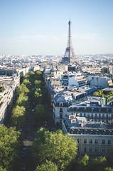 / paris / (aubreyrose) Tags: travel paris france spring europe view eiffeltower arcdetriomphe springtime viewfromthetop sunnyday parisinthespring