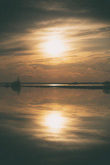 A mirror for the sun (andrey.senov) Tags: sky sun clouds river spring fuji russia may bayou fujifilm province volga     kostroma    xa1  35faves    fujifilmxa1