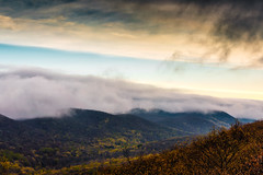 Highlands Cloud (pidalaphoto) Tags: ny newyork mountains clouds sunrise river dark moody valley hudsonriver hudsonvalley bullhill hudsonhighlands clearingstorm coldspringny mttaurus mounttaurus philipstown