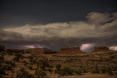 Moab madness_8108638 (steve bond Photog) Tags: storm utah canyonlands moab lightning islandinthesky
