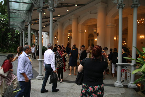 Dinner at Raffles Hotel - ABLD-EBSLG-APBSLG Joint Meeting in Singapore (May 18, 2016)