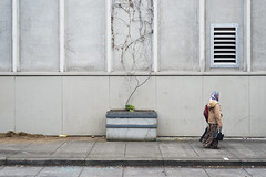 vine, lady, vent (kevko76) Tags: street lady oregon digital portland vent photography 50mm nikon vine pdx d600