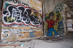 Grind Time (Luso845) Tags: money building art abandoned graffiti nike grind hustle hudsonvalley cornerclockin