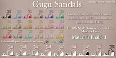Mutresse@Collabor88 in May 2016 - Gugu Sandals Info (Eeky Cioc) Tags: original shoe mesh event footwear string gladiator
