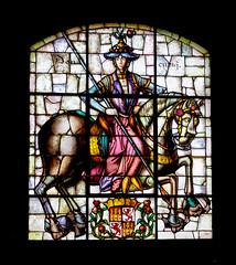 Vitral en el Alczar de Segovia, Espaa (Edgardo W. Olivera) Tags: espaa art lumix spain europa europe arte panasonic segovia vitral vitraux alczar gh3 microfourthirds microcuatrotercios edgardoolivera