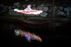 6N2A5530 (karl101) Tags: light reflection water night canal led