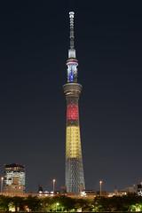 DSC_2266 (Zengame) Tags: tower japan architecture night tokyo nikon df belgium illumination landmark illuminated jp   belgian nikkor      skytree   tokyoskytree  afs58mmf14g afsnikkor58mmf14g night