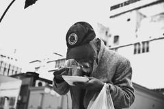 20160527.walking_sushi (fdcavalcante) Tags: street brazil portrait blackandwhite woman man 35mm photography nikon saopaulo walk streetphotography sp bnw d3300