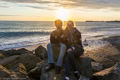 DSC_0181 (sergeysemendyaev) Tags: sunset sea storm beach spring warm waves russia dusk adler atthebeach seashore blacksea seacoast bigwaves sochi  2016                 duringf1 1 duringformulaone