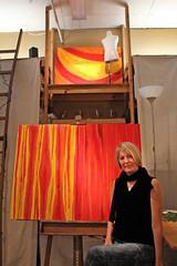 Dani Roach (skipmoore) Tags: art artist sausalito icb artistsopenstudios daniroach