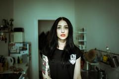 Anne (bjoern.son) Tags: portrait woman berlin girl anne model shoot 15 shooting frau mdchen photgraphy 2015 ootd blackhairdontcare berlincitygirl bjoernson