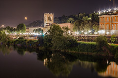 Lungarno & Luna (radoen_) Tags: florence fiume firenze arno chiarodiluna