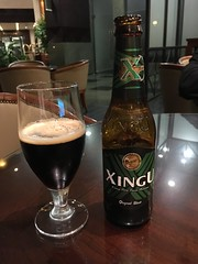 Dark beer in Brazil (corsi photo) Tags: brazil beer beverage portoalegre alcohol xingu anchieta darkbeer