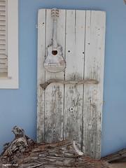 ...A second life... (cegefoto) Tags: door wood guitar recycled greece recycling hout deur gitaar griekenland 116picuresin2016