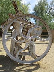 IMG_3154 (christeli_sf) Tags: deathvalley furnacecreek miningequipment scenicdrive