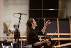 9 July 16 Clore Studio - the conductor (Nikon Girl 88) Tags: musician music house choir opera royal instrument gong tenor