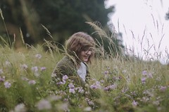 friends and summer (evahgrf) Tags: flowers trees friends summer portrait sky plants plant flower tree green nature girl grass canon germany outside person focus friend bokeh 14 meadow adventure explore grasses 500d evahgrf