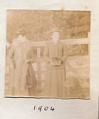 The Saers 1904 (Bury Gardener) Tags: uk blackandwhite bw wales vintage oldies 1900s