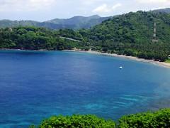 Malimbu Beach (yusuf ks) Tags: sky seascape beach nature clouds indonesia landscape island boat awan lombok pulau beautifulbeach pantai langit alam ntb senggigi sekotong bluebeach westnusatenggara malimbu nusatenggarabarat senggigibeach