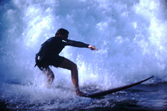12-1969- Redondo Surf (16) (foundslides) Tags: redondobeach ca calif california analog slide slides irmalouiserudd johnhrudd foundslides kodachrome kodak vintage surfer surfers surfing breakers wave waves sports water ocean sea seasid 1969 1960s transparencies rudd irma wetsuit wet december socal southbaycameraclub south bay southbay usa surfboard