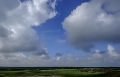 Typically Dutch (Wouter de Bruijn) Tags: fujifilm xt1 fujinonxf14mmf28r landscape nature dutch holland sky westkapelle farming clouds