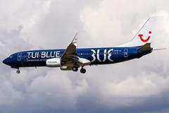 D-ATUD TUIfly Boeing 737-8K5(WL) coming in from Heraklion (LGIR) @ Frankfurt International (EDDF) / 26.06.2016 (oliver.holzbauer) Tags: planes boeing tui b737 planespotting boeing737 eddf planespotter runway18 datud tuifly runway18de tuiblue