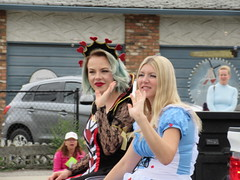 Alice and the Queen of Hearts (jamica1) Tags: canada bc okanagan may columbia days parade british kelowna rutland