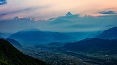 Sunrise view, Sarangkot, Pokhara, Nepal (CamelKW) Tags: nepal sunrise view pokhara sarangkot 2016 sunriseview everestpanorama