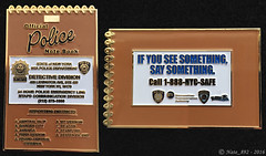 NYPD MTA Notebook Challenge Coin (Nate_892) Tags: new york notebook see coin police nypd transit division something say challenge detective