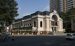 Saigon Opera House (mysticislandphoto) Tags: travel viet vietnam nam saigon hochiminh