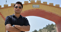 Tayyab Hanan (lone_krusader) Tags: trip friends pakistan summer portrait sky people beautiful photoshop glasses photo nikon gate outdoor entrance style adobe enjoy welcome dslr spectacles chill juniper lightroom memorable balochistan ziarat d5200